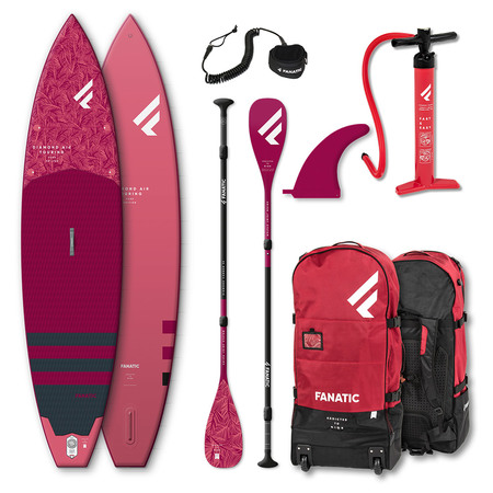 PADDLE FANATIC 2021 DIAMOND AIR TOURING 11.6x31 GONFLABLE + PAGAIE CARBON DIAMOND C35 COMPLET