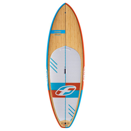 SUP F-ONE MADEIRO BAMBOO DECK 2016 08.5