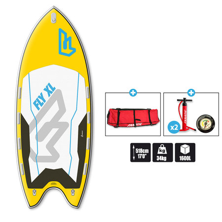 SUP FANATIC FLY AIR XL 17.0