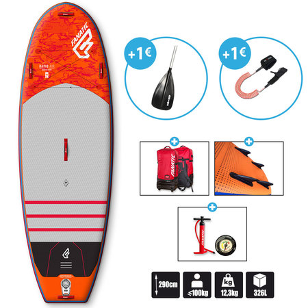SUP FANATIC RAPID AIR 9.6