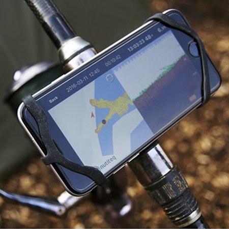 FIXATION SMARTPHONE SUR CANNE DEEPER