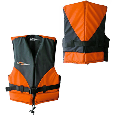 GILET KAYAK BIC ISO BEACH NOIR/ORANGE