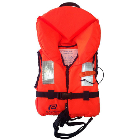 GILET PLASTIMO TYPHON ORANGE JUNIOR