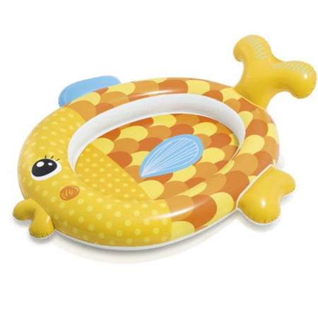 PISCINETTE BEBE POISSON INTEX FRIENDLY GOLDFISH 57111NP