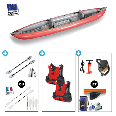 KAYAK GUMOTEX SOLAR 410 2 places rouge