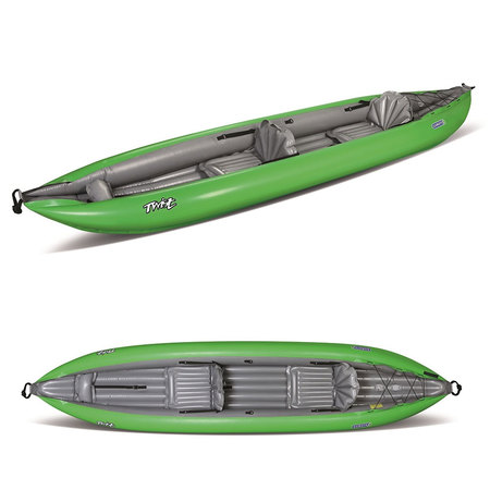 KAYAK GUMOTEX TWIST 2/1 CONVERTIBLE NITRILON VERT VERT