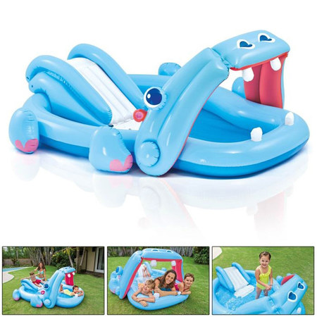 AIRE DE JEUX GONFLABLE INTEX HIPPO 57150NP