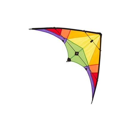 CERF-VOLANT HQ STUNT KITE ROOKIE Rainbow
