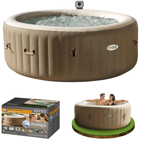 SPA GONFLABLE INTEX PURESPA BULLES 4 PERSONNES 28404 EX
