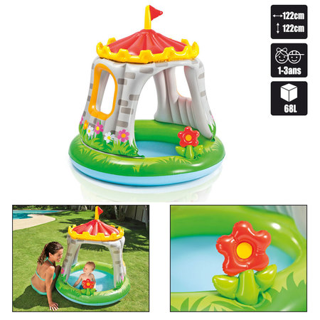 PISCINETTE BEBE INTEX ROYAL CASTLE BABY POOL 57122