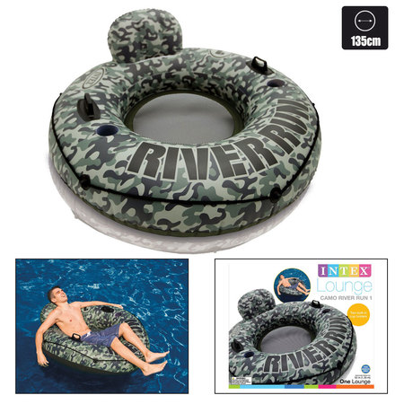 FAUTEUIL INTEX RIVER RUN 1 CAMO (58835) 58835