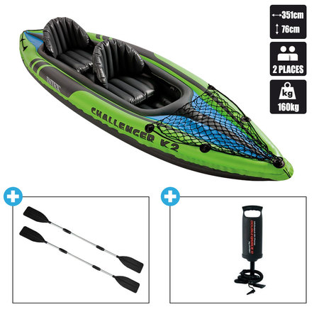 KAYAK INTEX CHALLENGER K2 (68306) 68306NP