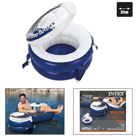 GLACIERE INTEX RIVER RUN CONNECT COOLER 56823