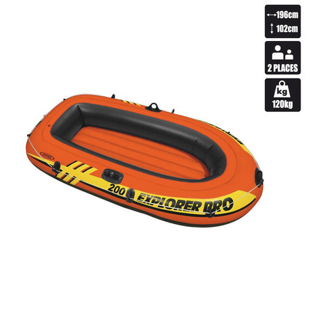 BATEAU INTEX EXPLORER PRO 200 ORANGE (58356) 58356NP