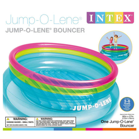 TRAMPOLINE GONFLABLE INTEX JUMP O LENE (48267) 48267