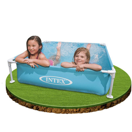 PISCINETTE INTEX TUBULAIRE 122 x 122 57172NP