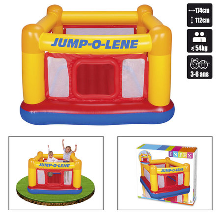 CHATEAU GONFLABLE INTEX PLAYHOUSSE JUMP O LENE 48260