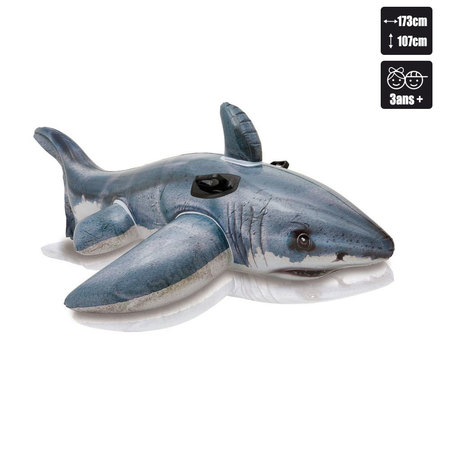 REQUIN INTEX GREAT WHITE SHARK RIDE ON 57525