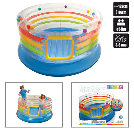 AIRE DE JEUX GONFLABLE INTEX RING BOUNCE JUMP O LENE (48264) 48264