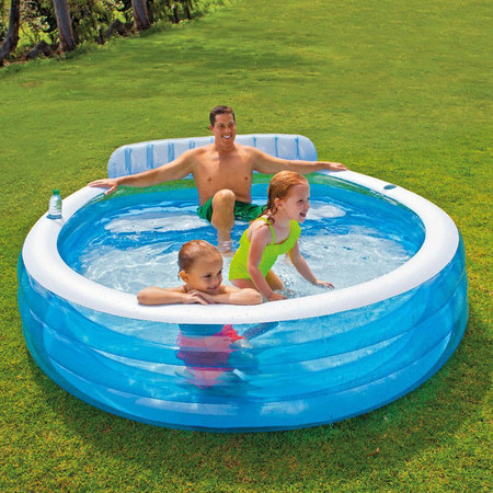 PISCINE GONFLABLE INTEX SWIM CENTER FAMILY 57190NP