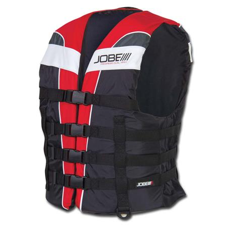 GILET JOBE PROGRESS DUAL VEST ROUGE 4XL/5XL