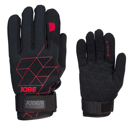 GANTS JOBE GLOVES STREAM ROUGE