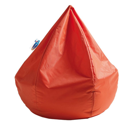 POUF FLOTTANT BEAN BAG ORANGE KERLIS