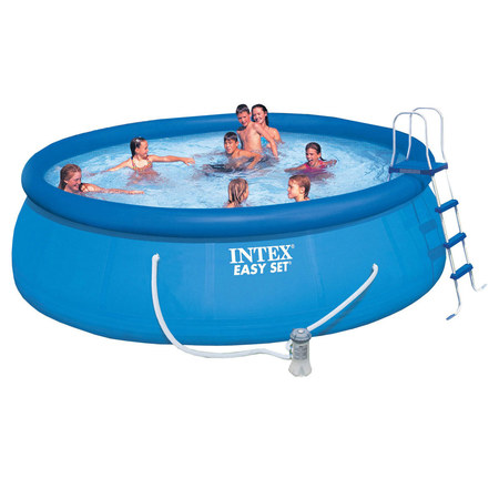 KIT PISCINE EASY SET INTEX 4M57 X 1M22 26168NP