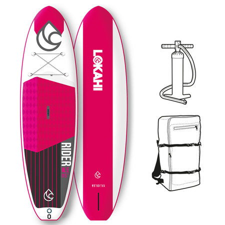 PADDLE GONFLABLE LOKAHI WE RIDER AIR 10.6 ROSE 2018 10.6