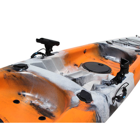 KAYAK SIT ON TOP MARGOUILLET 2 PLACES OCEAN SHORE GREY/ORANGE
