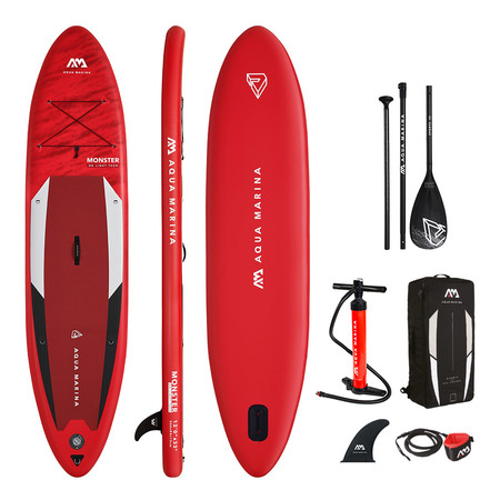 Paddle gonflable Aquamarina Monster 2021 - Sup gonflable polyvalent 120kg