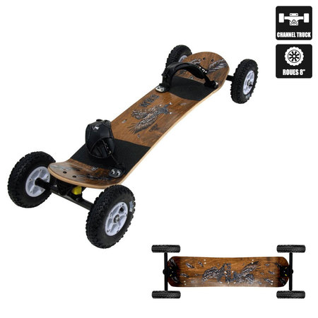 MOUNTAINBOARD MBS COMP 95 ROUES 8 POUCES