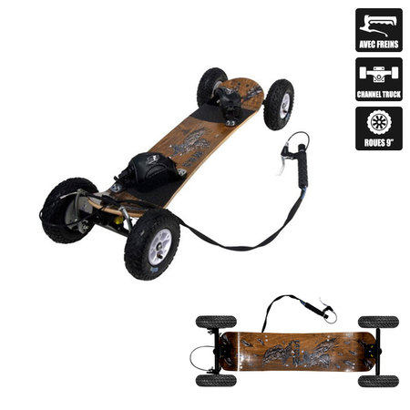 MOUNTAINBOARD MBS COMP 95X AVEC FREIN ROUES 9 POUCES