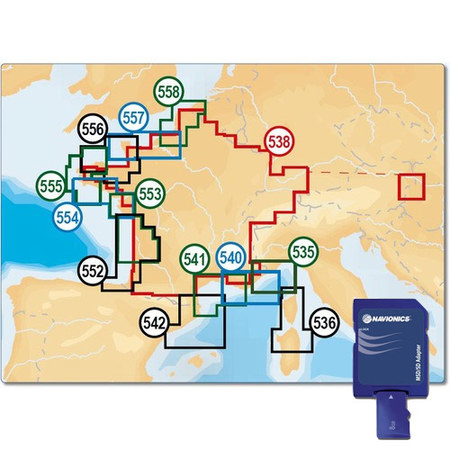 CARTE MARINE NAVIONICS+ SMALL SD