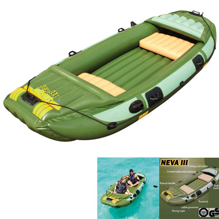 BARQUE GONFLABLE BESTWAY NEVA 3 65008