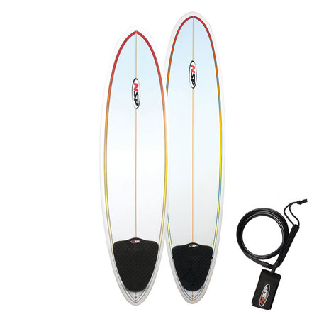 SURF NSP FUNBOARD 7.6 RED