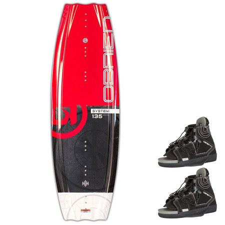 WAKEBOARD OBRIEN SYSTEM JUNIOR + CHAUSSES CLUTCH 2018