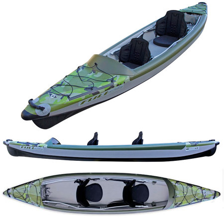 KAYAK GONFLABLE BIC YAKKAIR FULL HP 2 FISHING