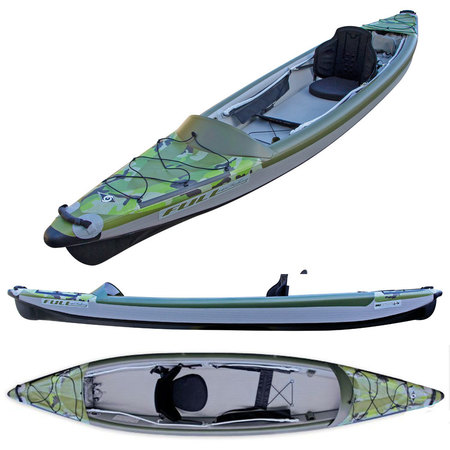 KAYAK GONFLABLE BIC YAKKAIR FULL HP 1 FISHING