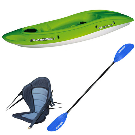 PACK KAYAK BIC OUASSOU FASHION SIT ON TOP
