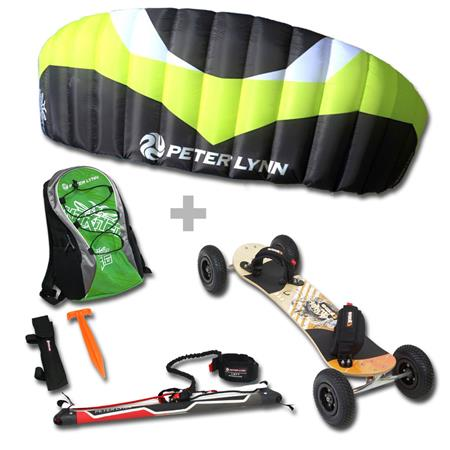 PACK MOUNTAINBOARD KHEO KICKER ET PETER LYNN HORNET A BARRE
