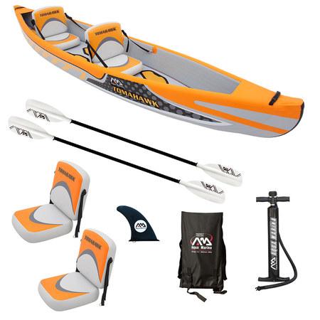 Kayak gonflable aqua marina tomahawk 2 full hp pas cher en vente sur stock - Kayak gonflable pas cher ...