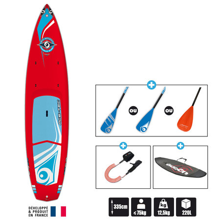 SUP BIC WING 11.0 RED ACE-TEC
