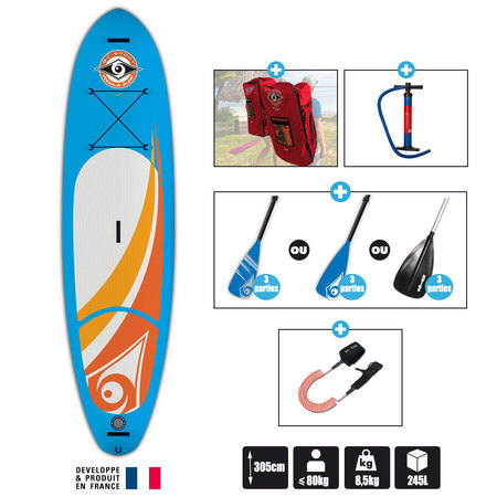 SUP BIC AIR 10.0 2016 SUP GONFLABLE