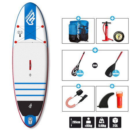 SUP FLY AIR 9.8 FANATIC 2016