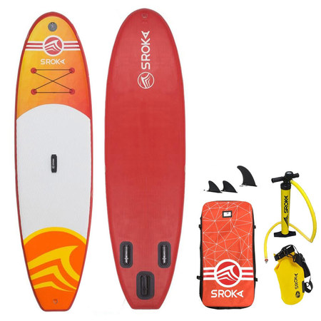 PACK PADDLE GONFLABLE SROKA MALIBU GIRLY FUSION 10.0 + MALIBU FUSION ORANGE 10.6 2019