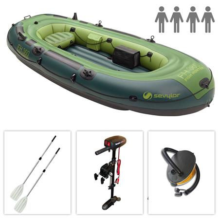 PACK BATEAU GONFLABLE SEVYLOR FISH HUNTER FH 360