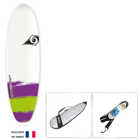 SURF BIC PAINT 6.0 SHORTBOARD PACKAGE
