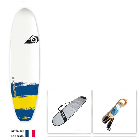 SURF BIC PAINT 6.6 SHORTBOARD PACKAGE
