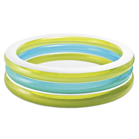 PISCINE RONDE INTEX BI-COULEUR 203 CM